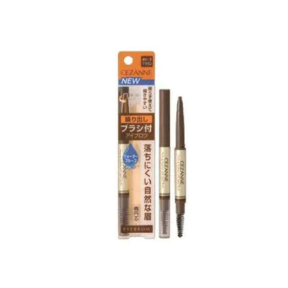 Cezanne Twist-Up Eyebrow With Spiral Brush 02 0.28G