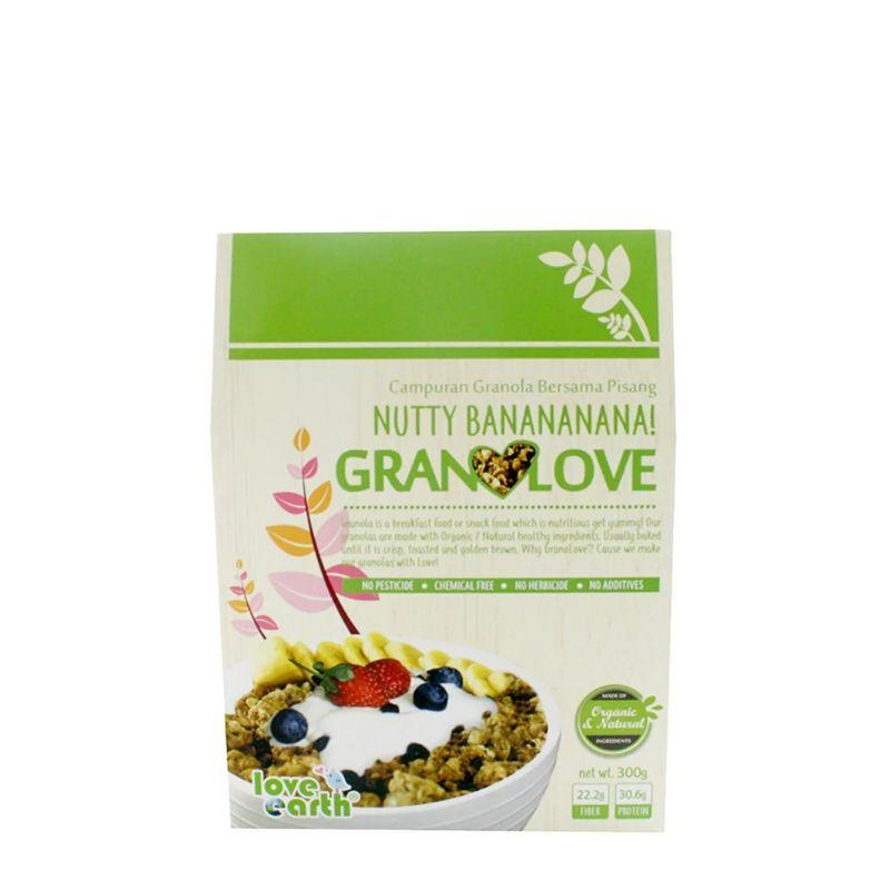 Love Earth Nutty Bananananan! Granolove 300G