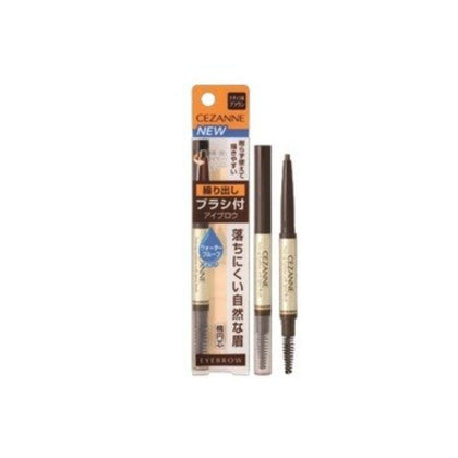 Cezanne Twist-Up Eyebrow With Spiral Brush 03 0.28G