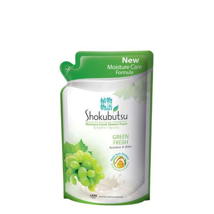 Shokubutsu Body Wash Green Freshness Refill 550G