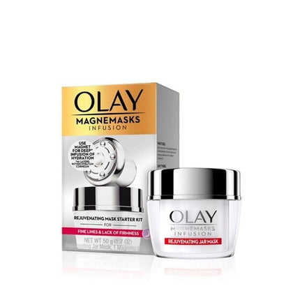 Olay Magnemasks Infusion Rejuvenating Jar Mask Starter Kit 50G