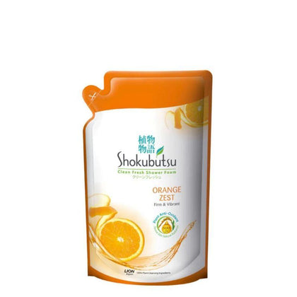 Shokubutsu Body Wash Orange Peel Refill 550G