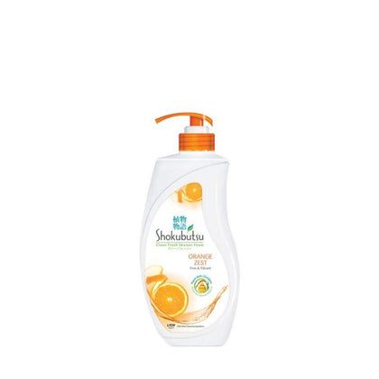 Shokubutsu Shower Foam Orange Peel 650G