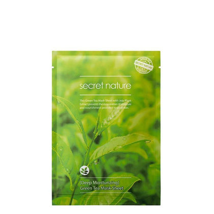 Secret Nature Deep Moisturizing Green Facial Mask 1S
