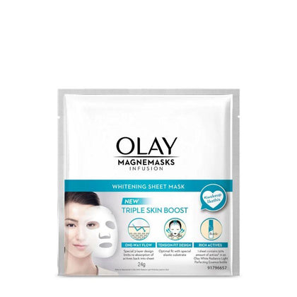 Olay Magnemasks Infusion Whitening Sheet Mask 24G