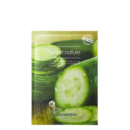 Secret Nature Cooling Cucumber Facial Mask 1S