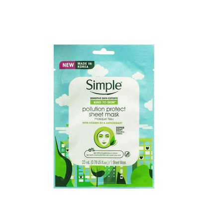 Simple Pollution Protect Antioxi Mask 1S