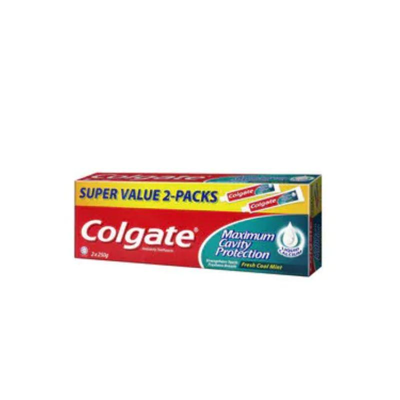 Colgate Maximum Cavity Protection Fresh Cool Mint Toothpaste 250g x 2
