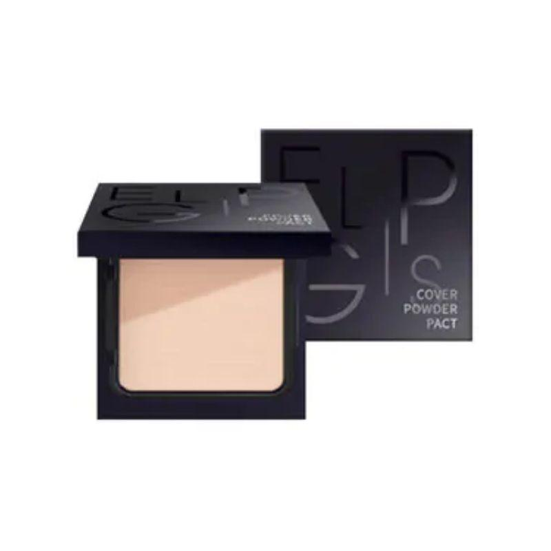 Eglips Cover Powder Pact #21 Light Beige 10G