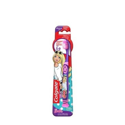 Colgate Smiles Barbie 5-9yrs Extra Soft Toothbrush 1s