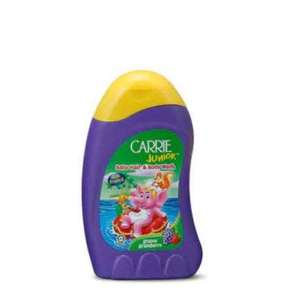 Carrie Junior Baby Hair & Body Wash Groovy Grapeberry 280ml