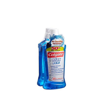 Colgate Plax Mouthwash Ice 750Ml X 2