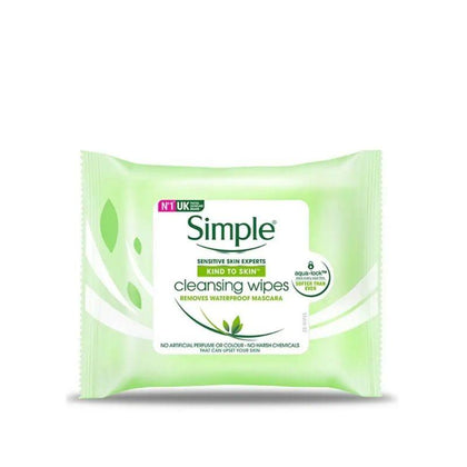 Simple Cleansing Facial Wipes 7S