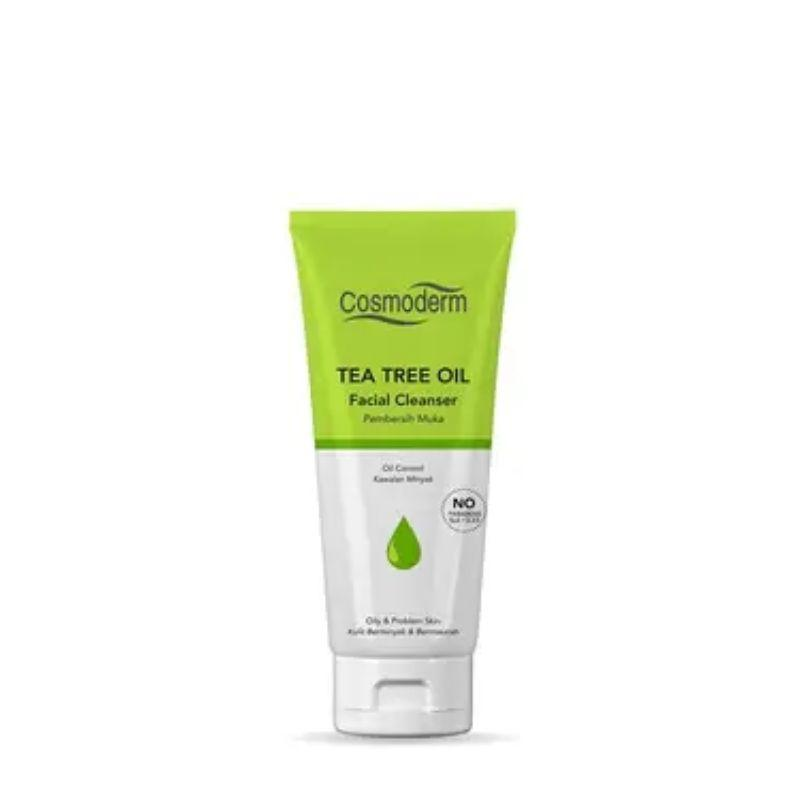 Cosmoderm Tea Tree Oil Facial Cleanser 125Ml