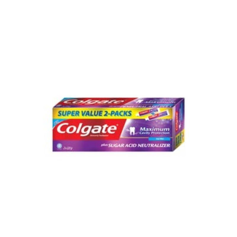 Colgate Sugar Acid Neutrlizer Toothpaste 225G X 2