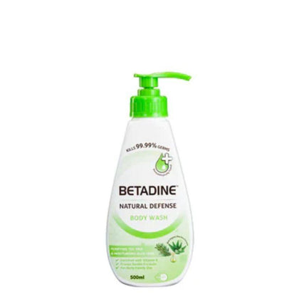 Betadine Tea Tree & Aloe Vera Body Wash 500ml