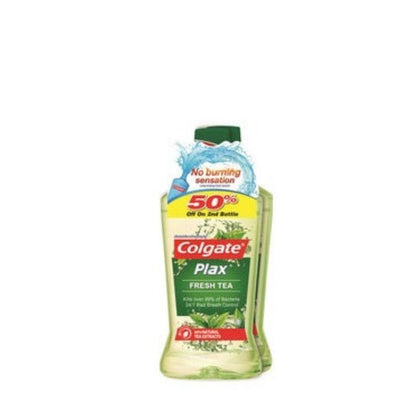 Colgate Plax Mouthwash Fresh Tea 750Ml