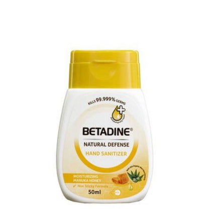Betadine Hand Sanitizer Manuka Honey 50Ml