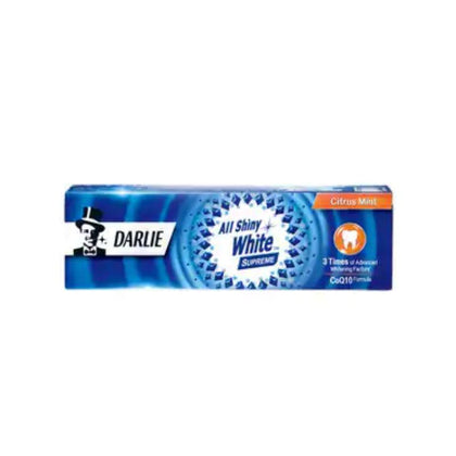 Darlie All Shiny White Supreme Citrus Mint Toothpaste 120G