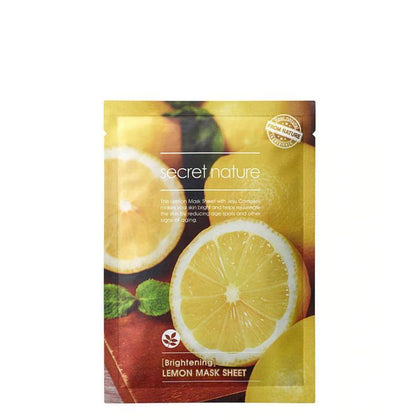 Secret Nature Brightening Lemon Facial Mask 1S