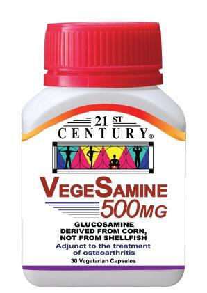 21St Century Vegesamine 500Mg 30 Capsules Healthcare & Supplements