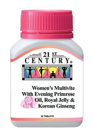 21St Century Womens Multivite 30 Tablets Healthcare & Supplements