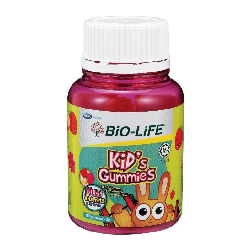 Bio-Life Kid's Gummies Multivitamins + Minerals 30s