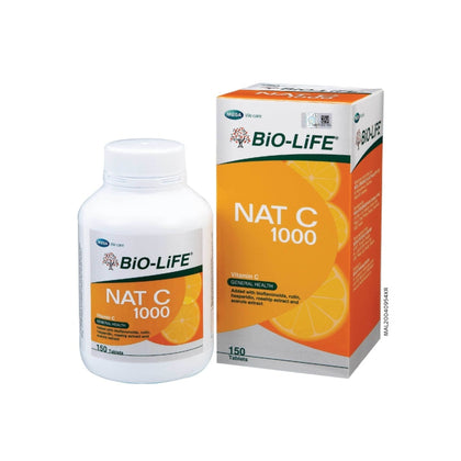 Bio-Life Nat C 1000 150 Tablets Vitamin