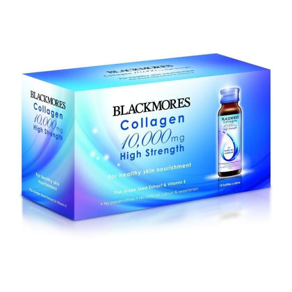 Blackmores Collagen 10,000mg High Strength 60ml x 10 Bottles