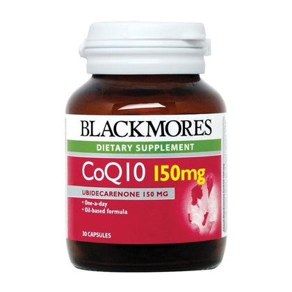Blackmores Dietary Supplement CoQ 10 150mg 30 / 30 x 2 Capsules