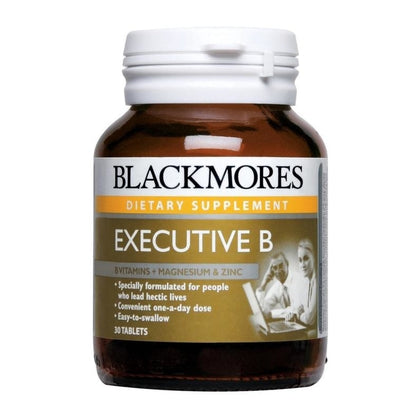 Blackmores Dietary Supplement Executive B 30 / 60 / 60 x 2 Tablets