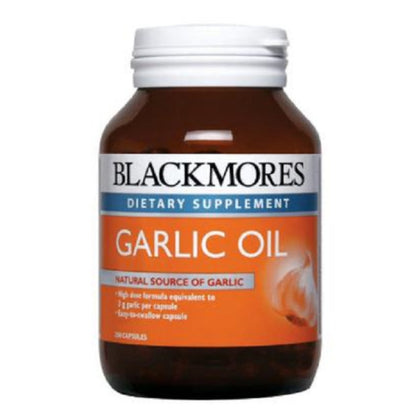 Blackmores Dietary Supplement Garlic Oil 90 / 250 Capsules
