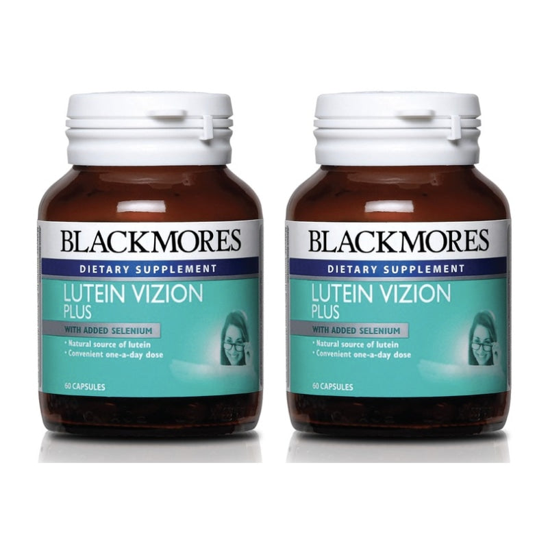 Blackmores Dietary Supplement Lutein Vizion Plus 60 / 60 x 2 Capsules