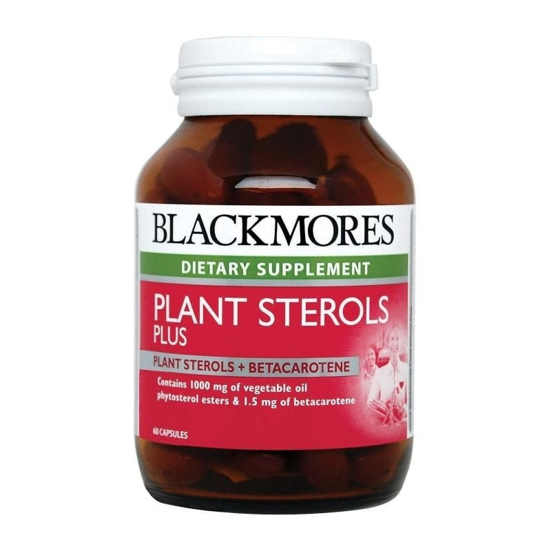 Blackmores Dietary Supplement Plant Sterols Plus 60 / 60 x 2 Capsules
