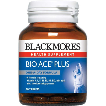Blackmores Health Supplement Bio ACE Plus 30 / 90 / 90 x 2 Tablets