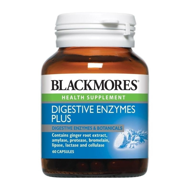 Blackmores Health Supplement Digestive Enzymes Plus 60 / 60 x 2 Capsules