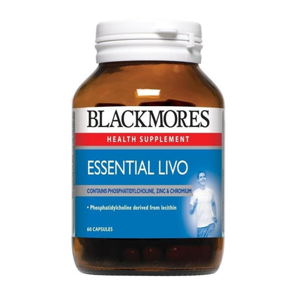 Blackmores Health Supplement Essential Livo 60 / 60 x 2 Capsules