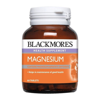 Blackmores Health Supplement Magnesium 60 Tablets