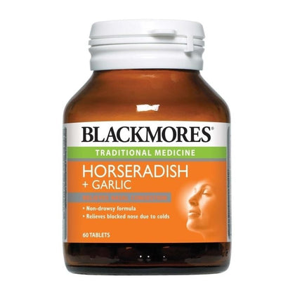Blackmores Horseradish & Garlic 60 Tablets