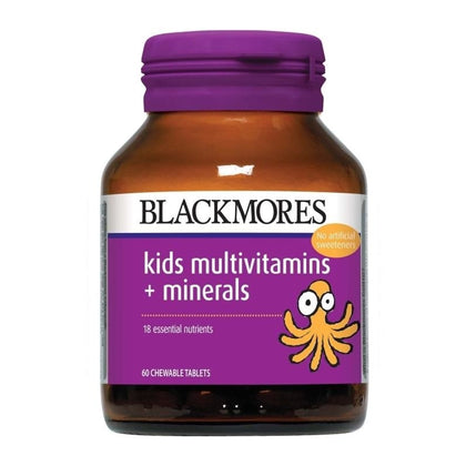 Blackmores Kids Multivitamins + Minerals 60 / 60 x 2 Chewable Tablets