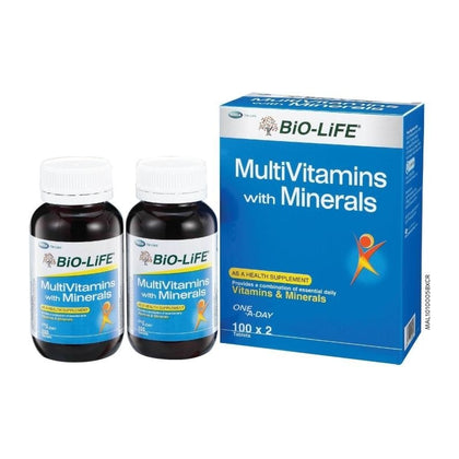 Blackmores Multivitamins + Minerals 120 + 30 Tablets