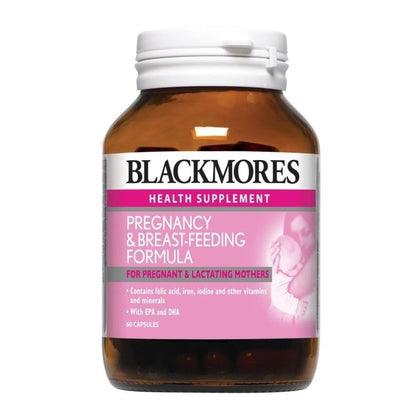 Blackmores Pregnancy & Breastfeeding Formula 60 / 60 x 2 Capsules