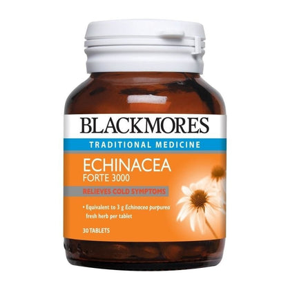 Blackmores Traditional Medicine Echinacea Forte 3000 30 / 120 Tablets
