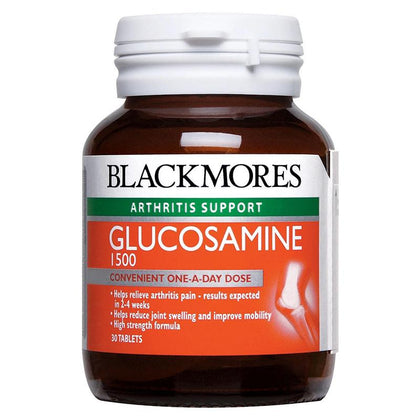 Blackmores Arthritis Support Glucosamine 1500 (30 / 30 x 3 Tablets)