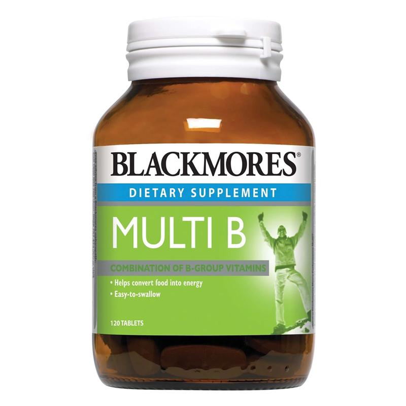 Blackmores Dietary Supplement Multi B 30 / 120 Tablets