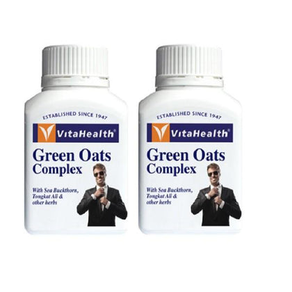 Vitahealth Green Oats Complex 1212Mg 2 X 60 Tablets