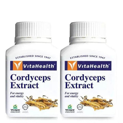 Vitahealth Cordyceps Extract 520Mg 2 X 60 Capsules Healthcare & Supplements