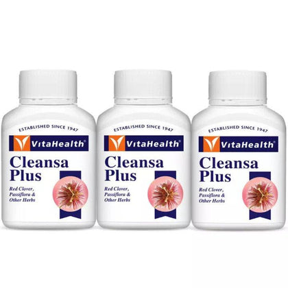 Vitahealth Cleansa Plus 3 X 30 Tablets Healthcare & Supplements