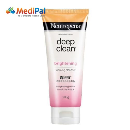 Neutrogena Deep Clean Brightening Foaming Cleaser 100Ml