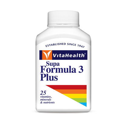Vitahealth Multivits & Minerals / Supa Formula 3 Plus 100 Softgels (Name And Packing Changed)